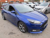 2015 FORD FOCUS 2.0 ST-3 TDCI 5d 183 BHP TOP SPEC , BEST COLOUR !! £17499.00