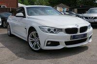 2014 BMW 4 SERIES 2.0 420D XDRIVE M SPORT 2d 181 BHP , BEAUTIFULLY ELEGANT £17499.00