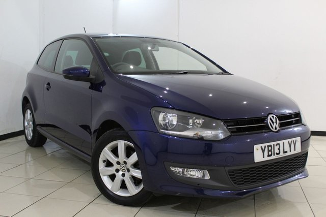 View our 2013 13 VOLKSWAGEN POLO 1.2 MATCH EDITION 3DR 59 BHP