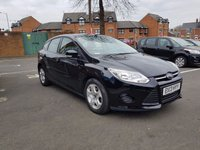 USED 2013 13 FORD FOCUS 1.6 EDGE TDCI 95 5d 94 BHP EXCELLENT FUEL ECONOMY!..LOW CO2 EMISSIONS(109G/KM)..£20 ROAD TAX...FULL HISTORY...ONLY 8676 MILES FROM NEW!! WITH AIR CONDITIONING,AUXILLIARY/MEDIA!!