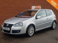 2008 VOLKSWAGEN GOLF 2.0 GT TDI 3d FULL LEATHER HEATED SEATS £5295.00