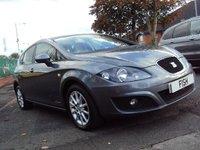 USED 2012 12 SEAT LEON 1.6 CR TDI SE COPA DSG 5d AUTO 103BHP SATNAV+FSH 5STAMPS+2KEYS+MEDIA