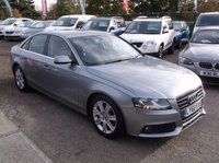 USED 2011 60 AUDI A4 2.0 TDI TECHNIK 4d 134 BHP SPACIOUS  FAMILY CAR WITH EXCELLENT SERVICE HISTORY, GREAT SPEC, DRIVES SUPERBLY, OUTSTANDING VALUE !!!