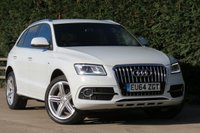 USED 2014 64 AUDI Q5 2.0 TDI QUATTRO S LINE PLUS START/STOP 5d 148 BHP *AA DEALER PROMISE* DRIVE AWAY TODAY
