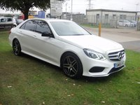 USED 2015 65 MERCEDES-BENZ E CLASS 2.1 E220 BLUETEC AMG NIGHT EDITION 4d AUTO 174 BHP ANY PART EXCHANGE WELCOME, COUNTRY WIDE DELIVERY ARRANGED, HUGE SPEC