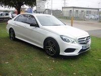 2015 MERCEDES-BENZ E CLASS 2.1 E220 BLUETEC AMG NIGHT EDITION 4d AUTO 174 BHP £18000.00