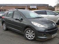 USED 2007 57 PEUGEOT 207 1.4 SW S 5d 94 BHP GOOD HISTORY+NEW MOT ON SALE