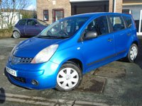 USED 2007 57 NISSAN NOTE 1.5 VISIA DCI 5d 85 BHP 2 OWNER+CHEAP TO RUN DIESEL