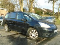 USED 2007 07 CITROEN C4 PICASSO 2.0 GRAND VTR PLUS 16V EGS 5d AUTO 139 BHP PX TO CLEAR-MOT JAN 19-READ ADVERT!