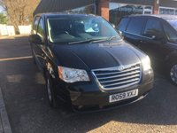 USED 2009 59 CHRYSLER GRAND VOYAGER 2.8 CRD TOURING 5d AUTO 161 BHP STOW AND GO 7 SEATER. APPROVED CARS ARE PLEASED TO OFFER THIS  CHRYSLER GRAND VOYAGER 2.8 CRD TOURING 5 DOOR AUTOMATIC 161 BHP STOW AND GO 7 SEATER IN BLACK WITH A FULL SERVICE HISTORY AN IDEAL FAMILY CAR WITH SEVEN SEATS.