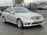 USED 2009 59 MERCEDES-BENZ C CLASS 2.1 C220 CDI BLUEEFFICIENCY SPORT 4d 170 BHP