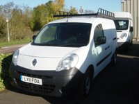 2011 RENAULT KANGOO MAXI 1.5 LL PLUS DCI 1d 85 BHP LONG WHEELBASE VAN £SOLD