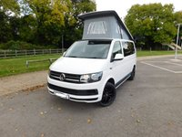 2017 VOLKSWAGEN CAMPERVAN VW CAMPERVAN T6 4 BERTH NEW CONVERSION SWB 102 ps A/C Sat Nav Cruise Swivel captain seats Tailgate with Heated rear window and wash wipe £37995.00