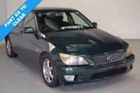 2000 LEXUS IS 2.0 200 S 4d 153 BHP £495.00