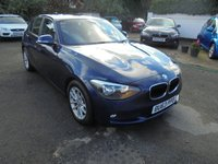 2013 BMW 1 SERIES 1.6 116D EFFICIENTDYNAMICS 5d 114 BHP £9170.00