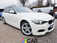 USED 2014 14 BMW 3 SERIES 3.0 330D XDRIVE M SPORT TOURING 5d AUTO 255 BHP 1 OWNER + FULL BMW SERVICE