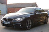 USED 2014 64 BMW 4 SERIES 2.0 420D M SPORT 2d 181 BHP SUNROOF, SAT NAV, HEATED SEATS, LEATHER, LOW RATE FINANCE AVAILABLE