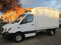 USED 2013 63 MERCEDES-BENZ SPRINTER 2.1 313CDI FRIDGE CHILLER BOX. NEW SHAPE. 7G TRONIC AUTOMATIC EX-SAINSBURYS VAN. LOW RATE FINANCE. PX WELCOME
