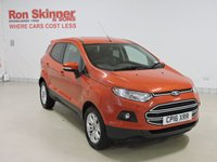 USED 2016 16 FORD ECOSPORT 1.0 ZETEC 5d 124 BHP with rear parking sensor