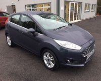 USED 2014 64 FORD FIESTA 1.0 ZETEC ECOBOOST (100PS) THIS VEHICLE IS AT SITE 1 - TO VIEW CALL US ON 01903 892224