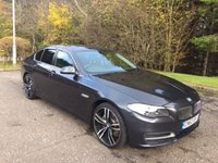 USED 2013 63 BMW 5 SERIES 2.0 520D SE 4d 181 BHP 6 MONTHS PARTS+ LABOUR WARRANTY+AA COVER