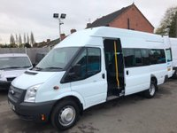 2013 FORD TRANSIT 2.2 TDCi 430 L High Roof Bus RWD 5dr (HDT, 17 Seat) £9950.00