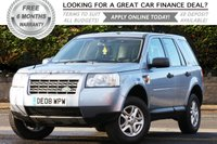 USED 2008 08 LAND ROVER FREELANDER 2.2 TD4 S 5d 159 BHP +++ FREE 6 months Autoguard Warranty included in screen price +++