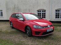 2016 VOLKSWAGEN GOLF 2.0 R TSI DSG 5d AUTO 296 BHP £25995.00