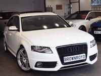 USED 2012 61 AUDI S4 AVANT 3.0 S4 AVANT QUATTRO 5d 329 BHP AUTO SAT NAV+BANG-OLUFSEN+LTHR+FSH