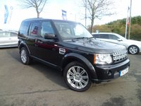 2011 LAND ROVER DISCOVERY 3.0 4 SDV6 HSE 5d AUTO 245 BHP £21999.00