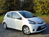 USED 2014 14 TOYOTA AYGO 1.0 VVT-I MOVE 5d 68 BHP * 128 POINT AA INSPECTED * TOM TOM SATELLITE NAVIGATION