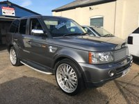 USED 2008 08 LAND ROVER RANGE ROVER SPORT 3.6 TDV8 SPORT HSE 5d AUTO 269 BHP