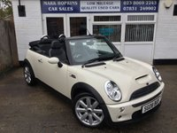 USED 2008 08 MINI CONVERTIBLE 1.6 COOPER S 2d AUTO  25K FSH TWO OWNERS RARE AUTOMATIC FULL LEATHER EXCELLENT CONDITION