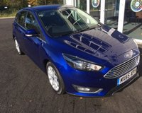 USED 2015 65 FORD FOCUS 1.5 TDCI TITANIUM NAVIGATOR 120 BHP THIS VEHICLE IS AT SITE 2 - TO VIEW CALL US ON 01903 323333