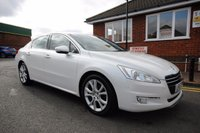 USED 2012 61 PEUGEOT 508 2.0 ALLURE HDI FAP 4d 163 BHP FULL HEATED LEATHER + BLUETOOTH