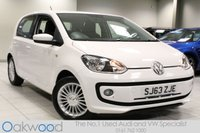 2013 VOLKSWAGEN UP 1.0 75 BHP HIGH UP 5d £6285.00