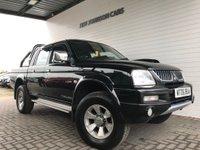 USED 2006 06 MITSUBISHI L200 2.5 4WD TROJAN LWB DCB 1d 114 BHP