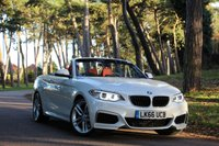 2016 BMW 2 SERIES 218i M SPORT CONVERTIBLE AUTO £22495.00
