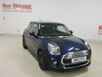USED 2014 14 MINI HATCH ONE 1.5 ONE D 3d 94 BHP
