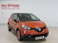 USED 2014 64 RENAULT CAPTUR 1.5 DYNAMIQUE S MEDIANAV ENERGY DCI S/S 5d 90 BHP with Black Roof