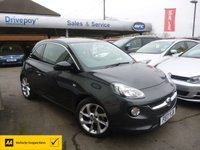USED 2017 17 VAUXHALL ADAM 1.4 SLAM 3d 98 BHP NEED FINANCE? WE STRIVE FOR 94% ACCEPTANCE