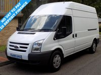 2010 FORD TRANSIT 2.2 FWD 350 LWB HIGH ROOF 140 BHP 6 SPEED £5995.00