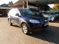 USED 2009 59 CHEVROLET CAPTIVA 2.4 LS 5d 135 BHP ONE OWNER,FULL HISTORY,TWO KEYS,AIR CON