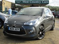 USED 2014 14 CITROEN DS3 1.6 E-HDI DSTYLE PLUS 3d 90 BHP Stylish Economical City Car