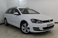 USED 2013 63 VOLKSWAGEN GOLF 1.6 SE TDI BLUEMOTION TECHNOLOGY 5DR 103 BHP SERVICE HISTORY + BLUETOOTH + CRUISE CONTROL + MULTI FUNCTION WHEEL + AIR CONDITIONING + 16 INCH ALLOY WHEELS