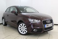 USED 2012 12 AUDI A1 2.0 TDI SPORT 3DR 143 BHP SERVICE HISTORY + BLUETOOTH + MULTI FUNCTION WHEEL + AIR CONDITIONING + RADIO/CD + 16 INCH ALLOY WHEELS