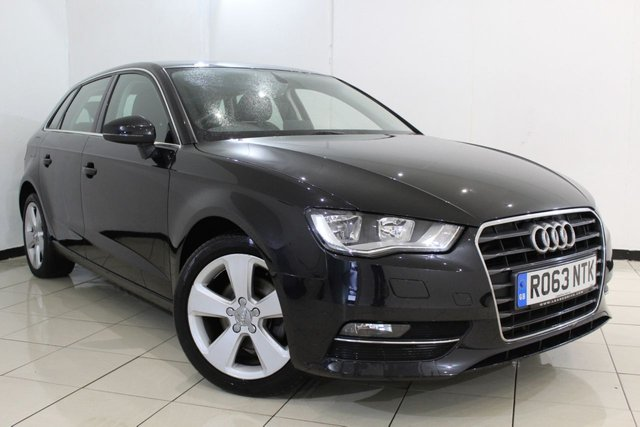 View our 2013 63 AUDI A3 2.0 TDI SPORT 5DR AUTOMATIC 148 BHP