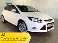 USED 2013 63 FORD FOCUS 1.6 ZETEC TDCI 5d 113 BHP