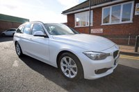 USED 2013 63 BMW 3 SERIES 2.0 316D ES TOURING 5d 114 BHP 7 BMW SERVICES TO 71K + POWER BOOT + DAB + BLUETOOTH