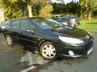 USED 2006 06 PEUGEOT 407 2.0 S HDI 4d 135 BHP NEW MOT ON SALE+GREAT VALUE